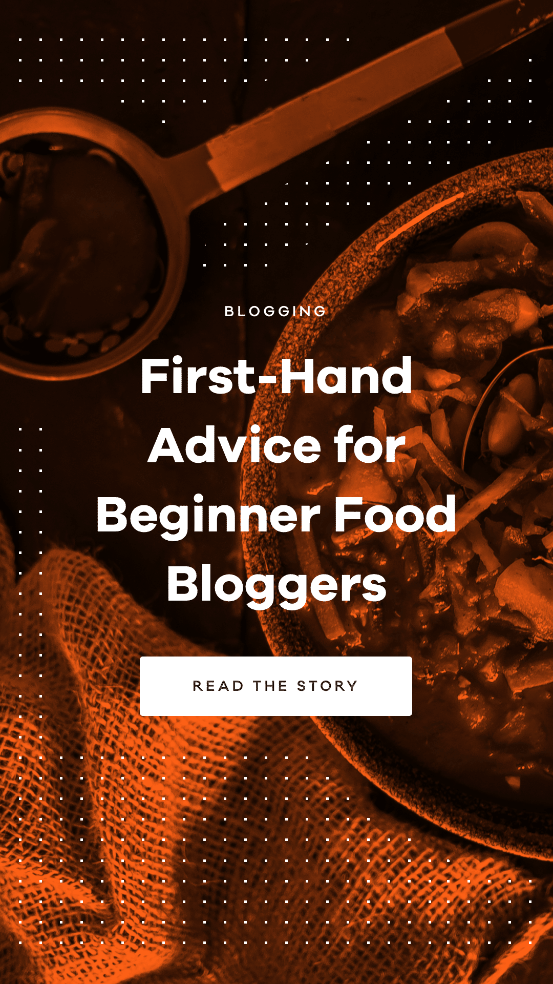 Learn first-hand advice for beginner food bloggers from the creators of DicedandSpiced.com