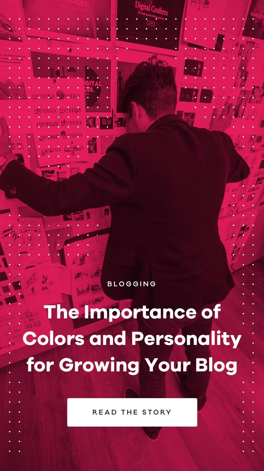 Colors are an emotional expression of our personality. They hold power to influence your audience's feelings and behaviors directly.
